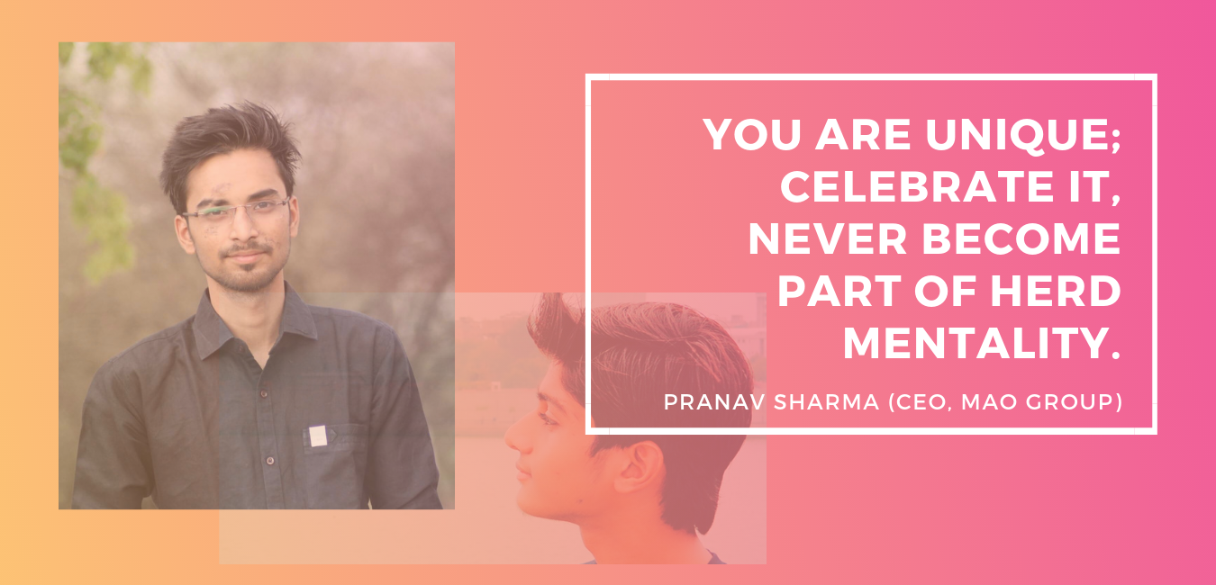 Pranav Sharma Interview with Aditya